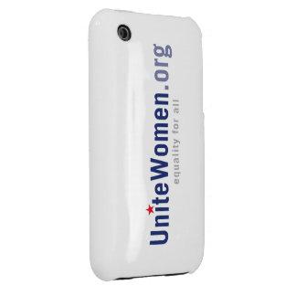 Caso del iPhone del logotipo (3G Barely There) Case-Mate iPhone 3 Coberturas
