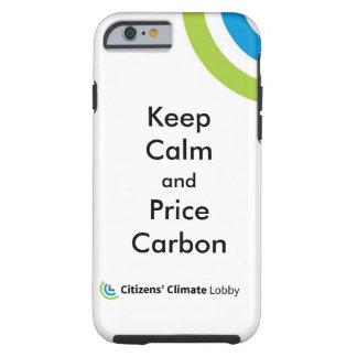 Caso del iPhone del logotipo de CCL Funda De iPhone 6 Tough