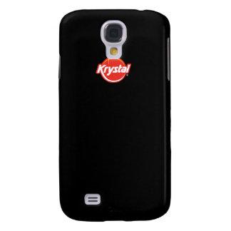Caso del iPhone del logotipo de Krystal