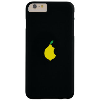 caso del iphone del logotipo del limón funda para iPhone 6 plus barely there