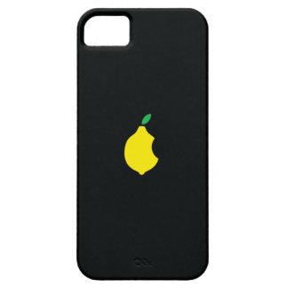Caso del iphone del logotipo del limón iPhone 5 carcasa