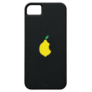 caso del iphone del logotipo del limón iPhone 5 fundas