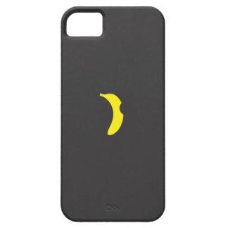 caso del iphone del logotipo del plátano iPhone 5 Case-Mate carcasa