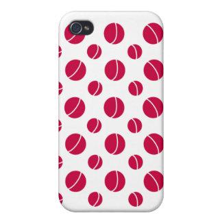 Caso del iphone del lunar iPhone 4 coberturas