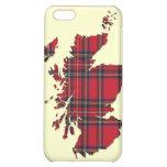 Caso del iPhone del mapa de Escocia del tartán