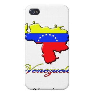 Caso del iPhone del mapa de Venezuela iPhone 4/4S Fundas