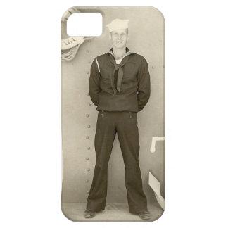 Caso del iPhone del marinero y del ancla del vinta iPhone 5 Case-Mate Coberturas