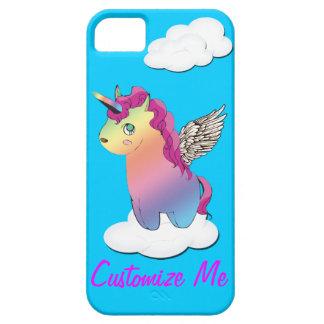 caso del iphone del mashup del meme del arco iris funda para iPhone SE/5/5s