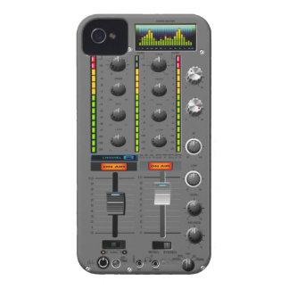 Caso del iPhone del mezclador de la música Case-Mate iPhone 4 Cobertura