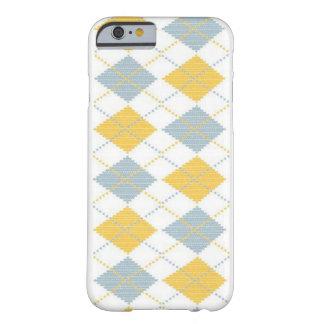 Caso del iphone del modelo de Argyle Funda Barely There iPhone 6