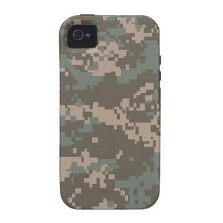 Caso del iPhone del modelo de Digitaces Camo del e Vibe iPhone 4 Carcasas