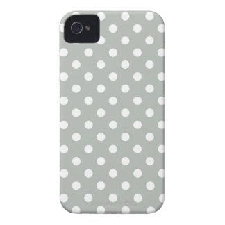Caso del iPhone del modelo de lunar de los gris iPhone 4 Case-Mate Funda