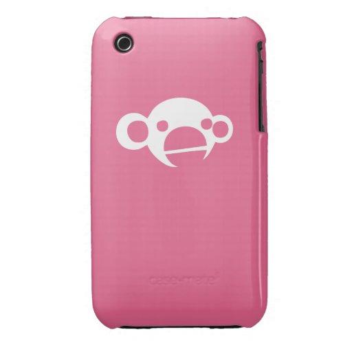 Caso del iPhone del mono Case-Mate iPhone 3 Fundas