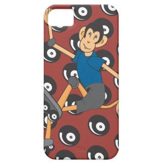 Caso del iPhone del mono del RollerBlade iPhone 5 Carcasa