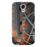 Caso del iPhone del motor de Allis Chalmers Funda Para Galaxy S4