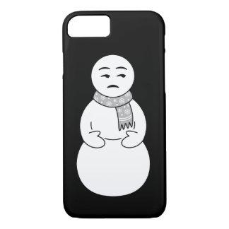 Caso del iPhone del muñeco de nieve de Emoji Funda iPhone 7