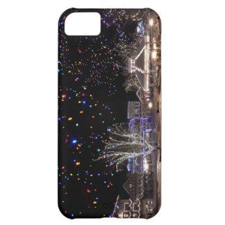 Caso del iPhone del navidad