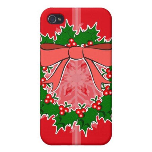Caso del iPhone del navidad iPhone 4 Funda