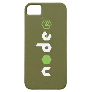 Caso del iPhone del nodo JS (verde caqui) iPhone 5 Carcasa