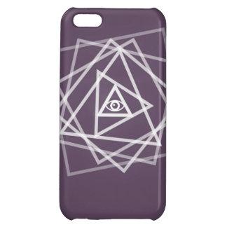 Caso del iPhone del ojo de Illuminati