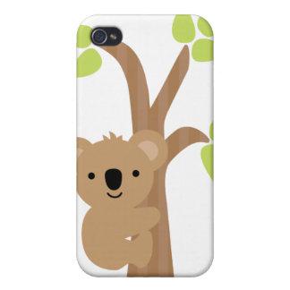 Caso del iPhone del oso de koala iPhone 4/4S Funda