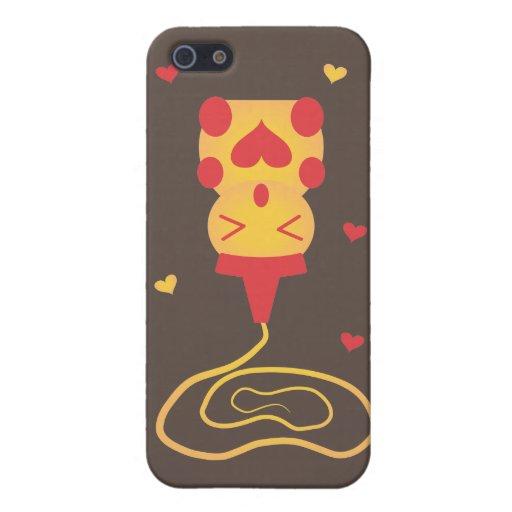 Caso del iPhone del oso de miel iPhone 5 Cárcasa