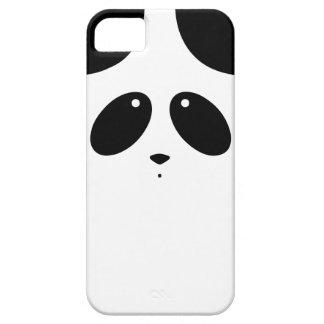 Caso del iPhone del oso de panda iPhone 5 Case-Mate Cárcasas