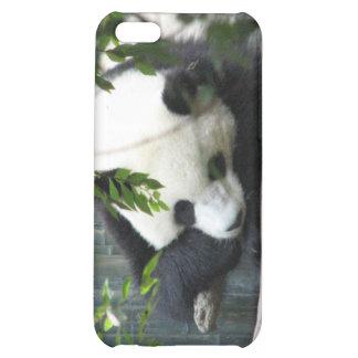 Caso del iPhone del oso de panda gigante