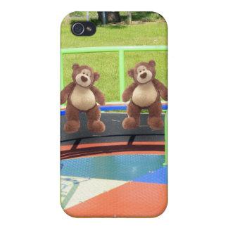 Caso del iPhone del oso de peluche iPhone 4 Fundas