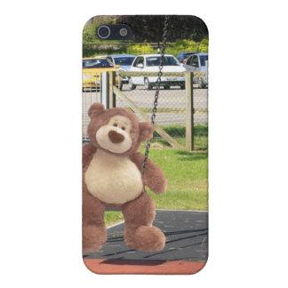 Caso del iPhone del oso de peluche iPhone 5 Protector