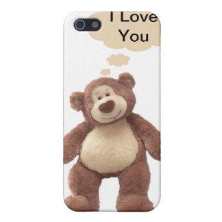 Caso del iPhone del oso de peluche iPhone 5 Funda