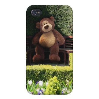 Caso del iPhone del oso de peluche iPhone 4/4S Fundas