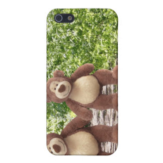 Caso del iPhone del oso de peluche iPhone 5 Fundas