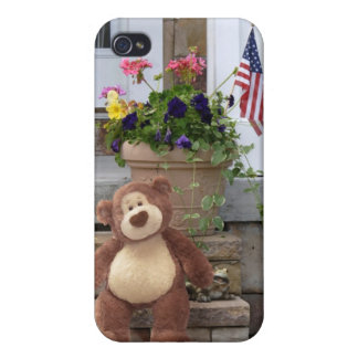 Caso del iPhone del oso de peluche iPhone 4/4S Funda