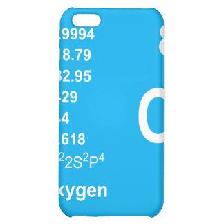 Caso del iPhone del oxígeno luz en azul