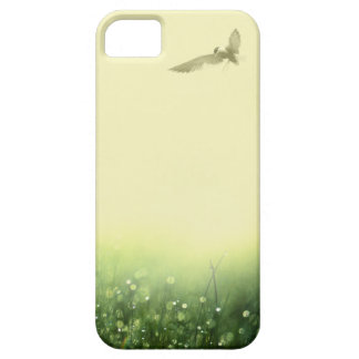 caso del iphone del pájaro de la mañana iPhone 5 Case-Mate protector