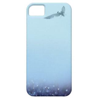 caso del iphone del pájaro de vuelo funda para iPhone 5 barely there