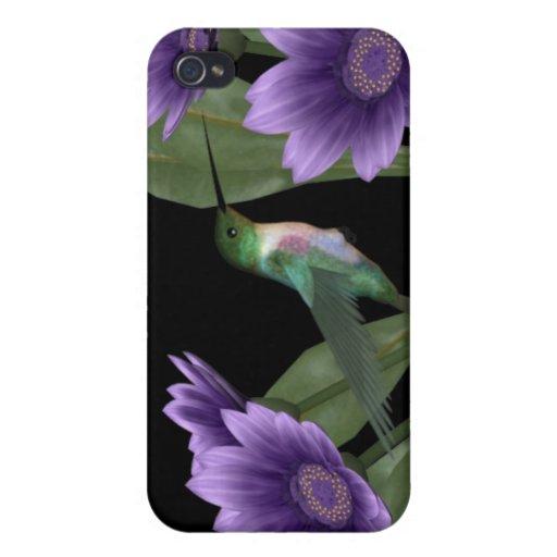 caso del iPhone del pájaro del tarareo iPhone 4 Fundas