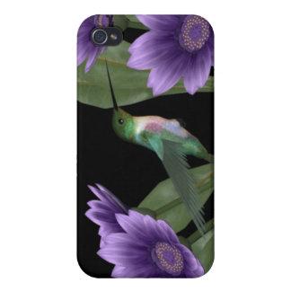 caso del iPhone del pájaro del tarareo iPhone 4 Funda
