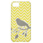 Caso del iPhone del pájaro y de Chevron