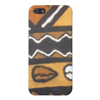 caso del iphone del paño del fango iPhone 5 carcasa