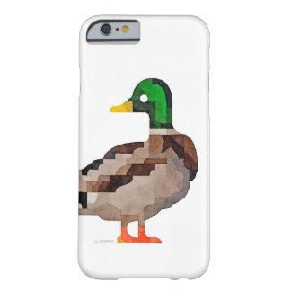 Caso del iPhone del pato del pato silvestre Funda Para iPhone 6 Barely There