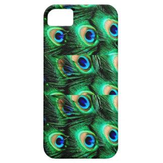 Caso del iPhone del pavo real iPhone 5 Carcasas