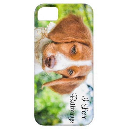 Caso del iPhone del perrito de Bretaña iPhone 5 Case-Mate Protector