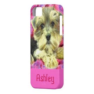 Caso del iphone del perrito de Morkie Funda Para iPhone SE/5/5s