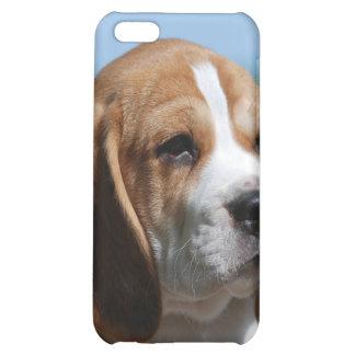 Caso del iPhone del perrito del beagle