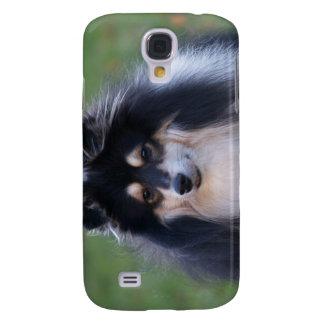 Caso del iPhone del perro de Sheltie