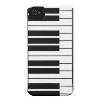 caso del iphone del piano iPhone 4 Case-Mate cárcasa