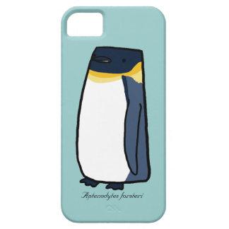 Caso del iPhone del pingüino de emperador Funda Para iPhone 5 Barely There