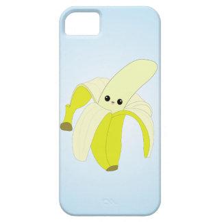 Caso del iPhone del plátano de Kawaii iPhone 5 Fundas